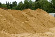 Песок карьерный с доставкой 25 тонн