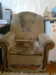 Кресло раскладное в отличном состоянии