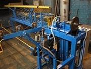 Станок-автомат АСУ-174М для изготовления сетки рабицы
