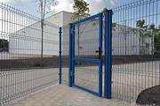Металлический забор панельного типа в Казани