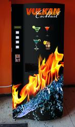 Впервые в России: торговые автоматы для продажи коктейлей!