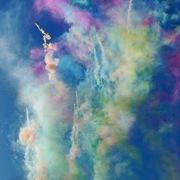 Дневные фейерверки (цветные дымы)