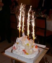Фонтан настольный для торта