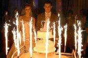 Фонтан в торт или фейерверк для торта