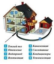 проведем вашему дому: отопление, каналицазию,  водопровод, вентиляцию в Казани