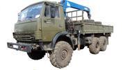 КамАЗ 4310 с военного хранения с манипулятором