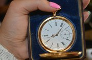 Продам золотые карманные часы Павел Буре