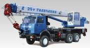 Автокран Галичанин КС-55713-1В с гуськом