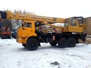 Автокран КС-557135В «Галичанин» 25т