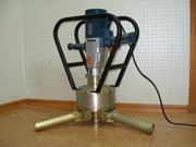 Электромеханизм для завинчивания винтовых свай