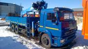Кран-манипулятор автомобильный КАМАЗ 65117-6010-78 с КМУ DongYang SS 2