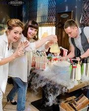 Выездной коктейль бар на праздник Бармен шоу