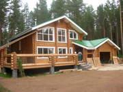 Строительство деревянных домов,  бань,  беседок
