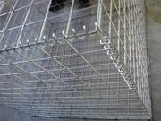 Габион из сварной оцинкованной сетки и сетки с ПВХ покрытием