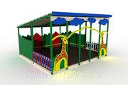 Теневые навесы для детских садов