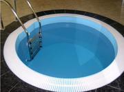 Бассейн полимерный для дачи