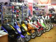 продаем скутеры мотоциклы  японские и китайские  от 13000 рублей